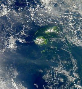 2010 Filamentous Cyanobacteria Bloom near Fiji
