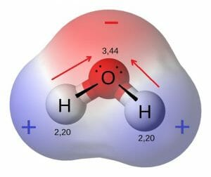 Water is polar molecule