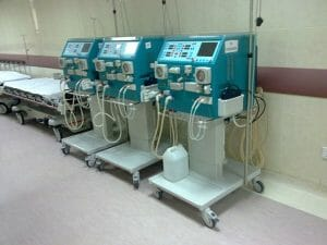 Dialysis machines