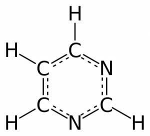 Pyrimidine 2D aromatic