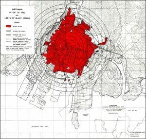Hiroshima Damage Map