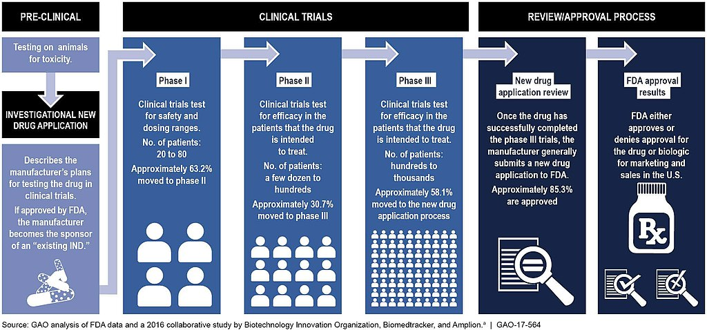 Typical Drug Development and Approval Process