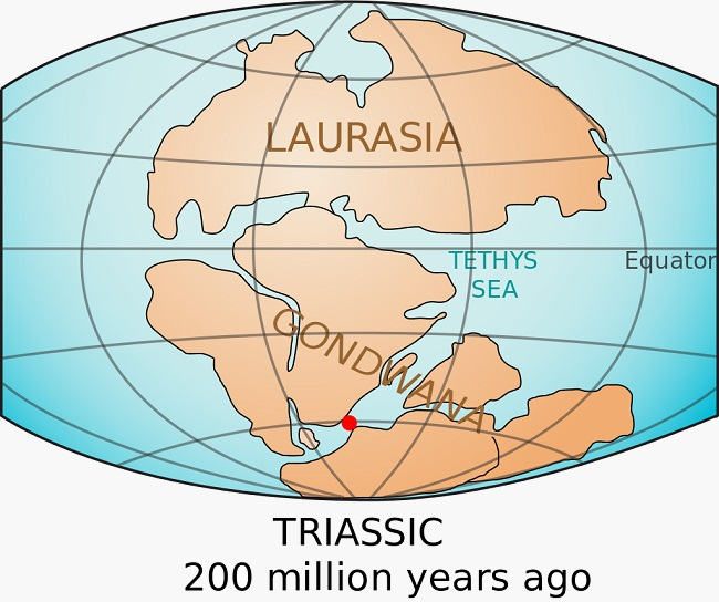 Early supercontinents - Gondwana and Laurasia