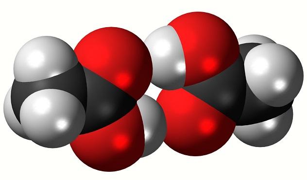 An acetic acid dimer