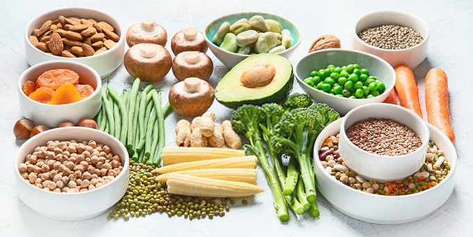 Plant-based proteins for BCAAs