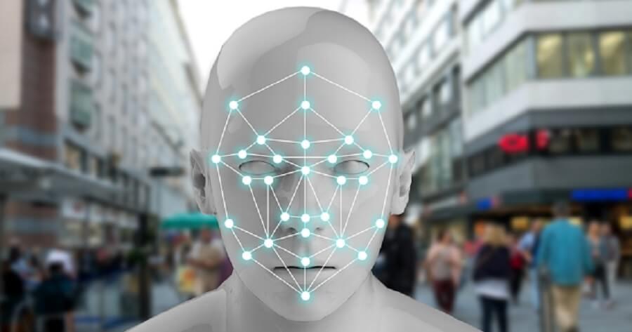 facial recognition occipital temporal visual