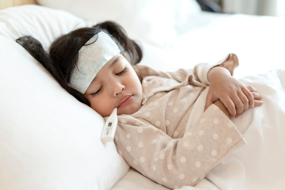 fever infection bacterial staphylococcus temperature thermometer