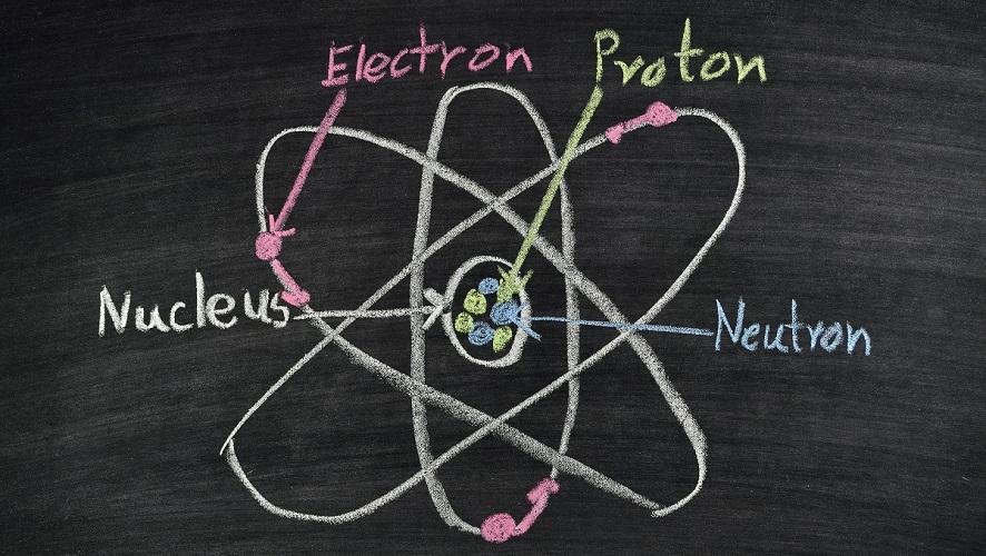 atom proton electron neutron charge