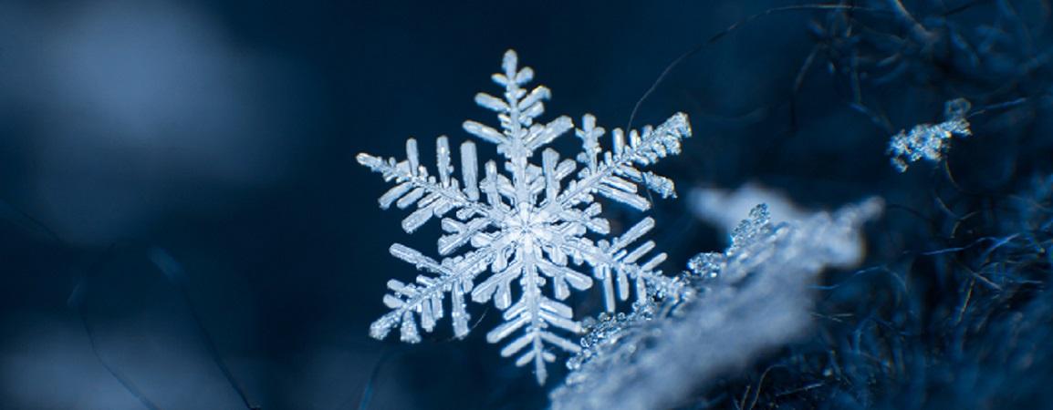 snowflake radial symmetry ice crystal