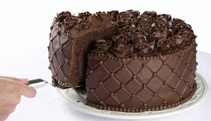 finished product baked cake recipe