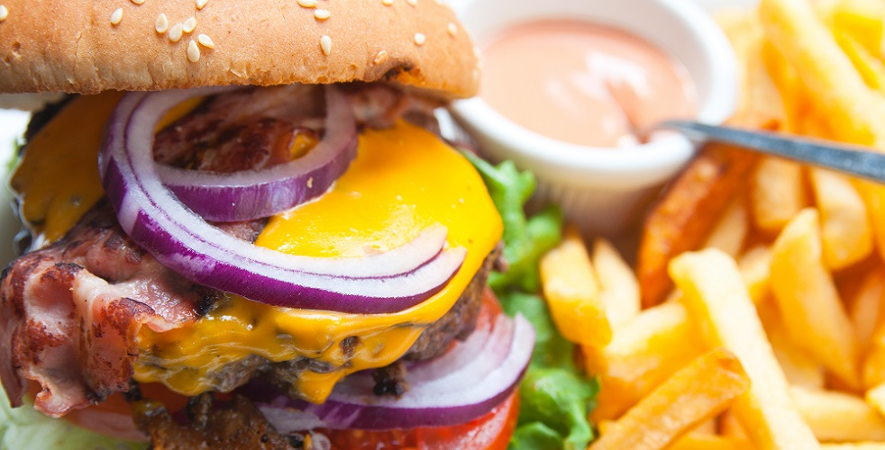 salty food burger fast food hypertension