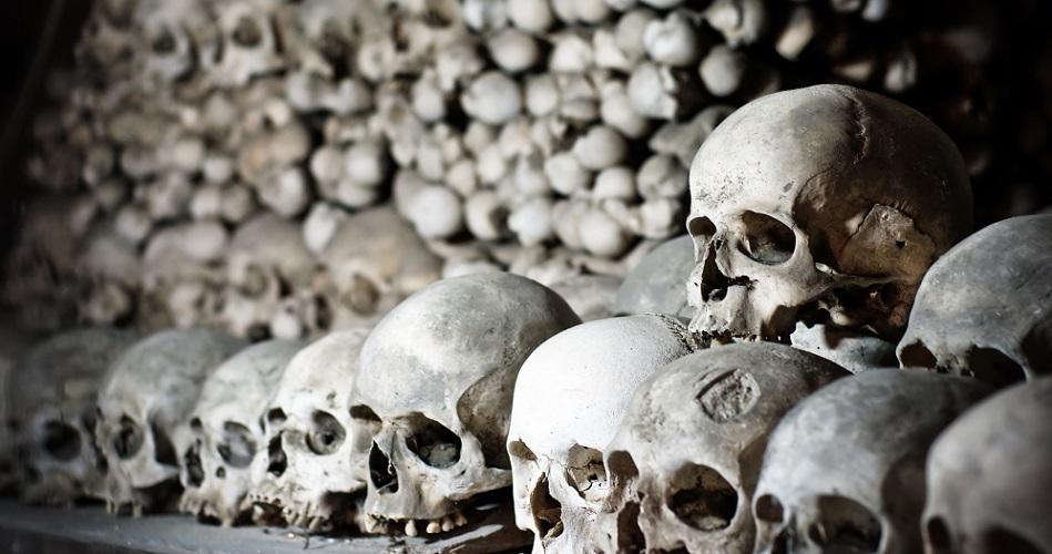 sedlec ossuary czech skulls bones human remains