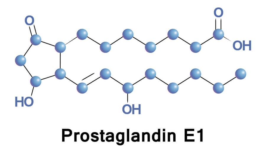 structure of prostaglandin e1