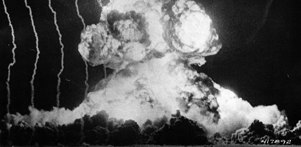 atomic bomb tests teting nevada US