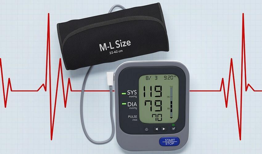 blood pressure meter normal healthy
