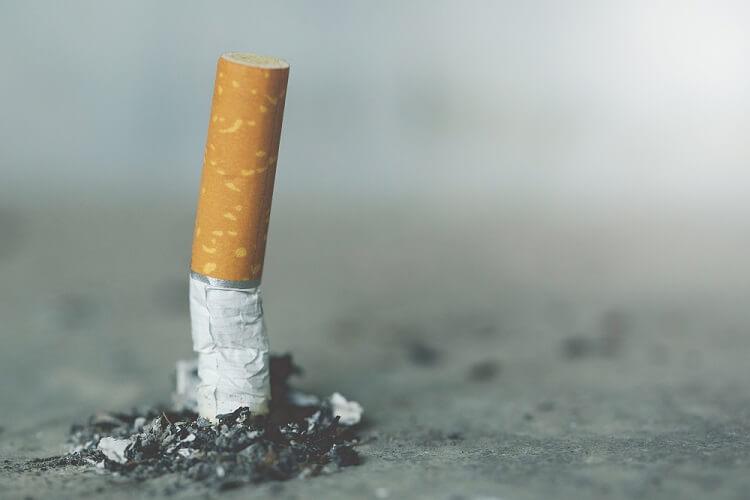 cigarette smoking oxidative stress lung health tar nicotine free radicals cancer