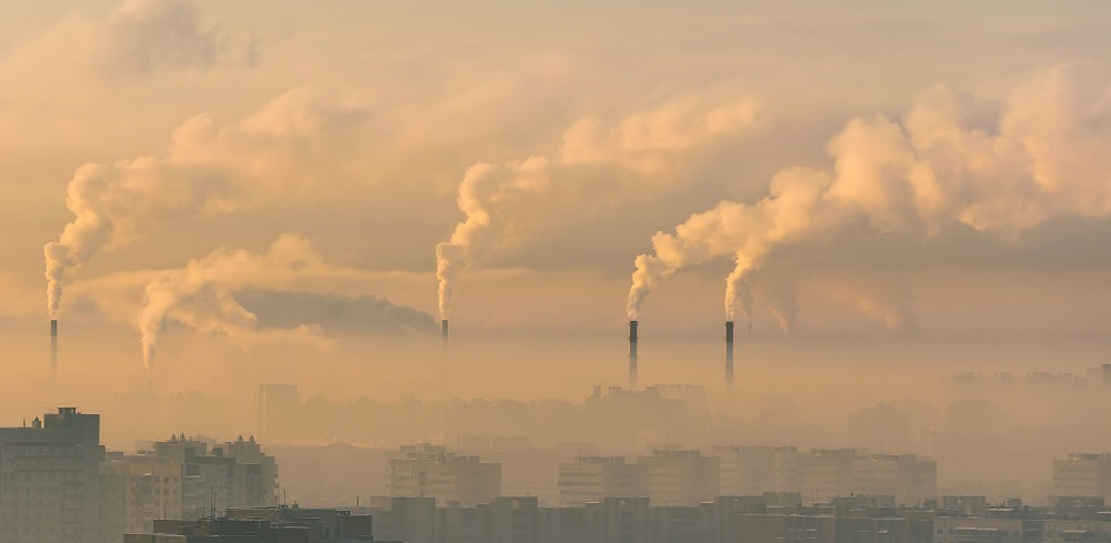 pollution factory air quality smog asthma