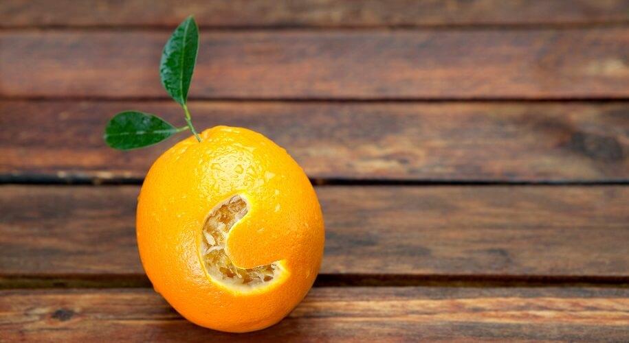 antioxidant vitamin c orange citrus free radicals oxidative stress