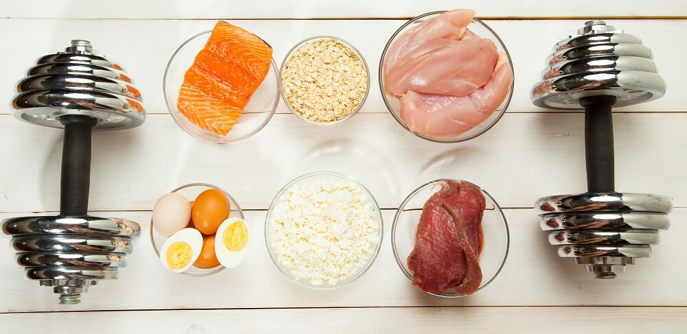 muscle building nutrition weights