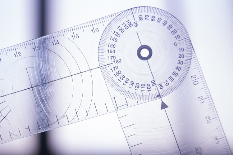 goniometer joints adduction abduction degrees