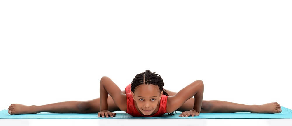 hip abduction gymnast young