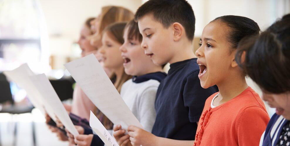 singing children communication
