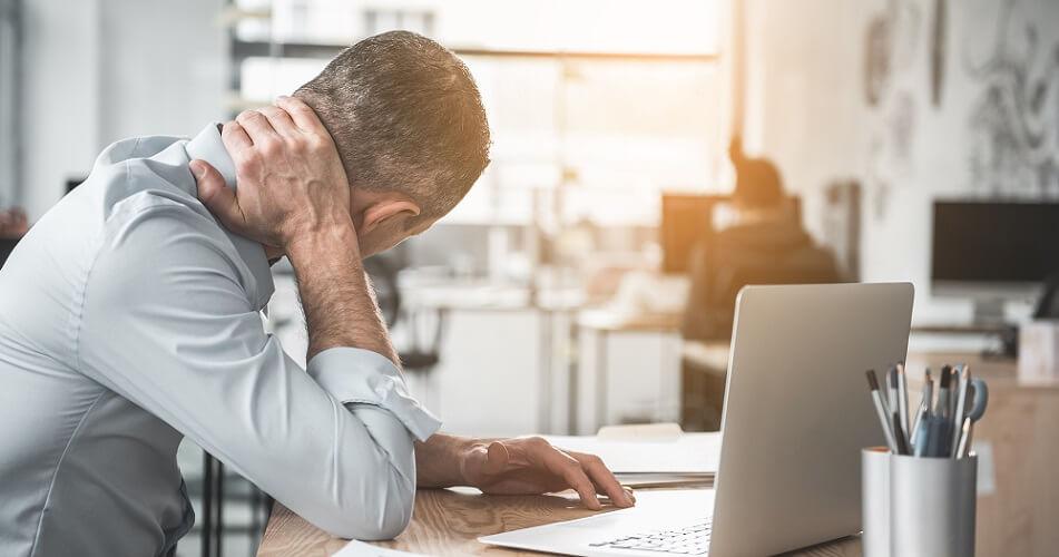 neck pain desk office posture