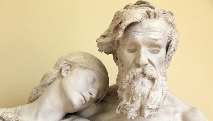 oedipus rex antigone sculpture greek psychoanalytic theory ego superego