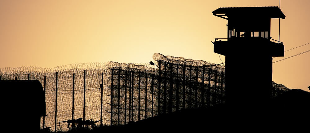 prison barbed wire incarceration punishment