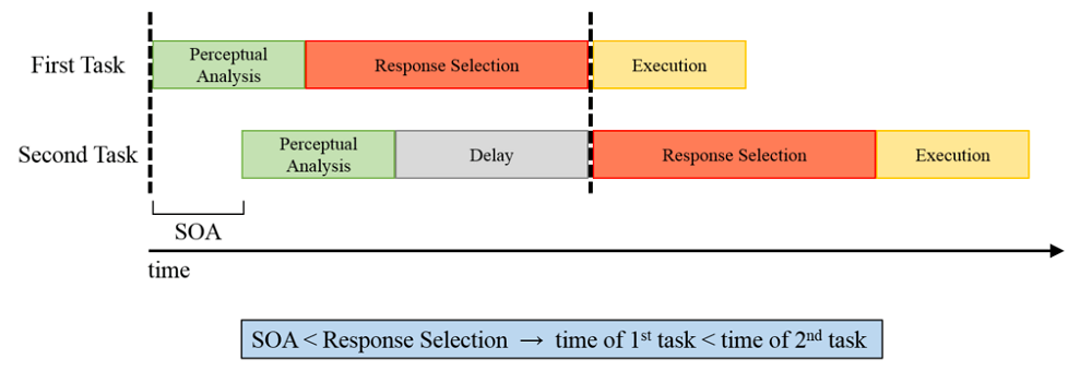 psychological refractory period delay behavior execution