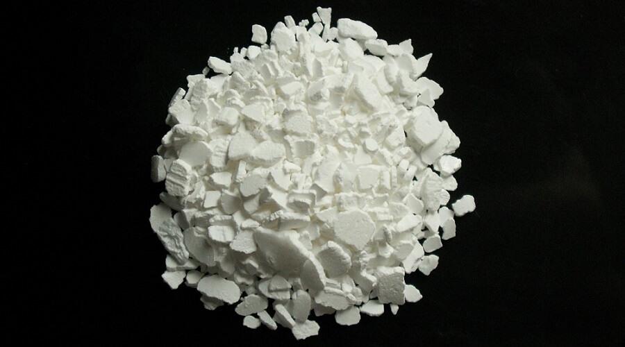 calcium chloride cacl2 powder compound