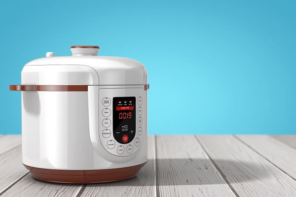 A pressure cooker is a common kitchen device that utilizes both positive and negative feedback mechanisms