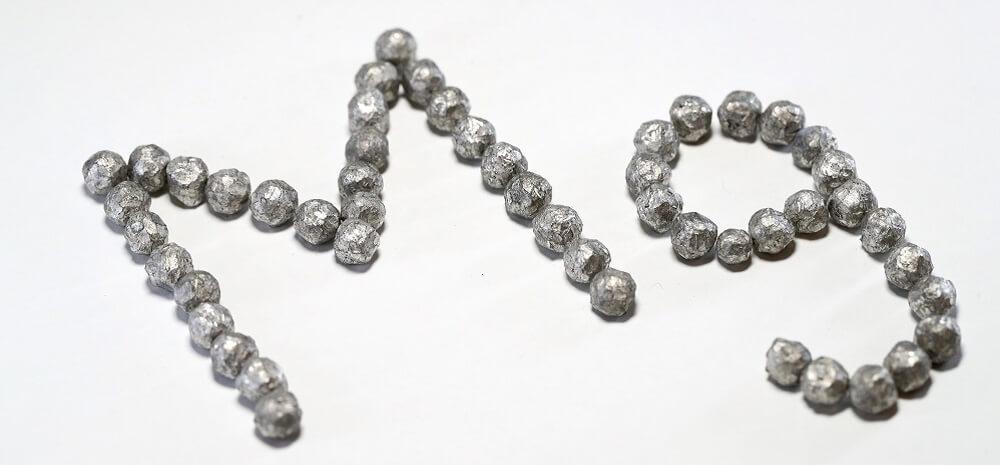magnesium metal mg element atom